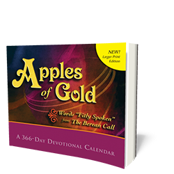 Apples of Gold Devotional