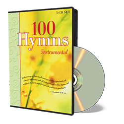 100 Instrumental Hymns CD