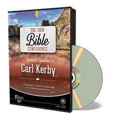 2016 Conference: Carl Kerby CD
