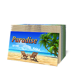 Paradise Tract (100 Pack)