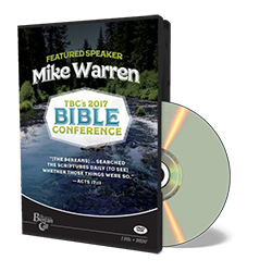 2017 Conference Mike Warren DVD