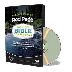 2017 Conference Rod Page DVD
