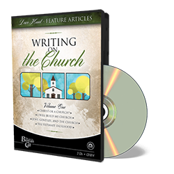 Newsletter Classic - Writing on the Church CD