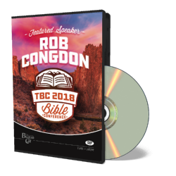 2018 Conference Rob Congdon DVD