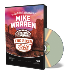 2018 Conference Mike Warren DVD