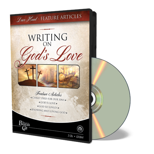 Newsletter Classic - Writing on God's Love CD