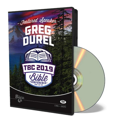 2019 Conference Greg Durel DVD
